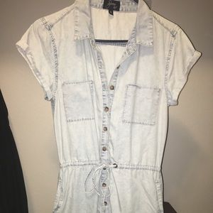 Dresses & Skirts - Super chic Jean dress size small